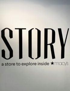 For more information on Outdoor STORY, go to the web site. This ever-evolving concept is open until September - go visit Macy's and see.