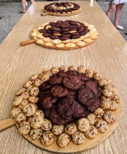 For dessert - lots of cookies!
