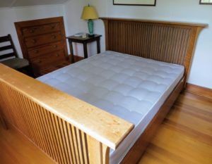 This bedroom is above my stable - it also needs a new mattress pad. When choosing any mattress pad or cover, be sure to use the dimensions of the mattress itself – not the bed frame. The majority of good-quality mattresses have a lifespan between seven and 10 years, but it can last beyond that with good care.