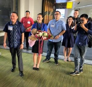 Once we arrived, we were given a warm welcome by the Department of Tourism and representatives from our host company, ABS-CBN, the Philippine news channel.