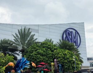 One of our first stops was the SM Mall of Asia, known locally as simply MoA - a large shopping mall in Bay City, Pasay.