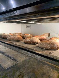 While most bakeries start baking during the wee hours of the morning, the team at Panaderya Toyo needs at least a couple days to make their bread - one day to prepare the dough and a second day to mix and bake.