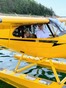 After breakfast, I took a seaplane ride over Mount Desert Island with businessman, Gary Lickle. He loves to fly and often commutes from Maine to Florida in one of his small planes.
