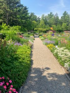 We also visited the Abby Aldrich Rockefeller Garden. The garden was designed by the legendary landscape architect, Beatrix Farrand, for John D. Rockefeller, Jr. and his wife Abby Aldrich Rockefeller in the 1920s. https://www.rockgardenmaine.com