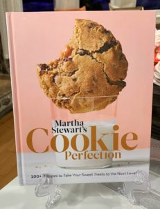 "And on QVC, I introduced my latest publication, ""Martha Stewart's Cookie Perfection: 100+ Recipes to Take Your Sweet Treats to the Next Level."" It's in bookstores October 15th. Pre-order your copy now by clicking on the link above."