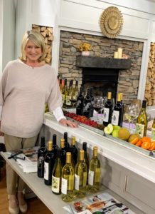 And don't forget my delicious wine collection from the Martha Stewart Wine Co. I have tasted and curated all these wines just for you, so that you enjoy the best selections available.