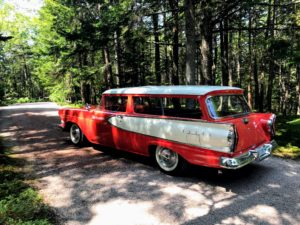 The group loved taking photos of my 1958 Edsel - a two-door six-passenger station wagon called a Roundup - only 963 were produced.