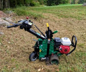 There are different types of sod cutters, but they all essentially cut grass at the roots so entire sections of sod can be removed to expose the bare ground underneath it.
