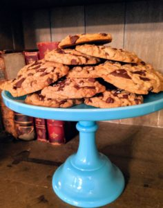 We also had chocolate chip cookies.