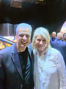 Here I am with Chef Eric Ripert - it is always fun to attend events and catch up with friends.