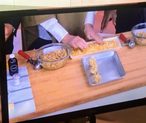 Next, I showed everyone how to make my Potato Chip Cookies - watch the segment to find out who inspired this recipe.