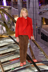 I stopped for another photo on one of the atrium's many steps. (Photo by Jamie McCarthy/Getty Images)