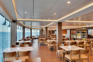 The ship includes a variety of bars and lounges - some with spectacular views. (Photo courtesy MSC Cruises USA)