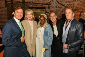 Here I am with Dr. Oz who presented my award, Whoopie Goldberg, fellow inductee photographer Timothy White, and singer-songwriter, Michael Bolton. (Photo by Gary Gellman/Gellman Images)