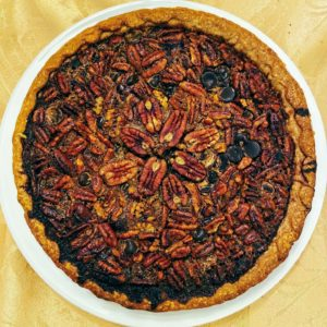 And this is a chocolate pecan pie - also made my Ashley.