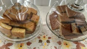 There was also cornbread and banana bread for all to enjoy.
