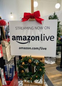 "It's been a very busy week of holiday appearances. Yesterday, I was at the Amazon Book Store for a special LIVE show to promote my holiday products on Amazon as well as my latest, and my 95th book, ""Cookie Perfection."" I hope you have your copy."