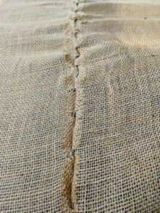 Burlap is so useful for many gardening projects - it is inexpensive, biodegradable, and the color and texture of burlap is so pretty to use.