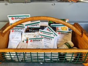 Seeds are available online and at garden centers. Many of my seeds come from Johnny's Selected Seeds - I've been using them for years. https://www.johnnyseeds.com/
