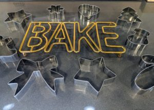 And here is my Bake Trivet for all those delicious cookies made with my Cookie Cutters. If you missed any of the show, click on the highlighted links above to watch. Happy baking!