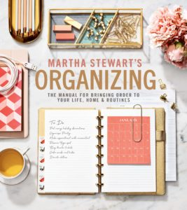 "If you want to give your loved one a book that will be used for many, many years, give them ""Martha Stewart's Organizing: The Manual for Bringing Order to Your Life, Home & Routines."" I am so proud of this book. It is the ultimate guide for sorting, purging, tidying, and simplifying, and has hundreds of smart solutions and inspirations for organizing so many things."