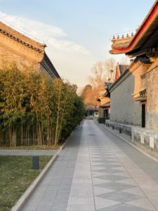 The grounds are very private and pristine. The original complex was once used by guests of the Summer Palace who were visiting emperors and empresses.