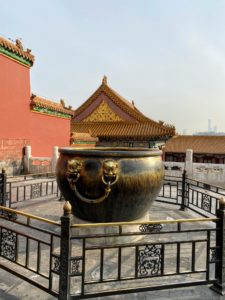 This is one of the symbolic cisterns in front of the Hall of Supreme Harmony.