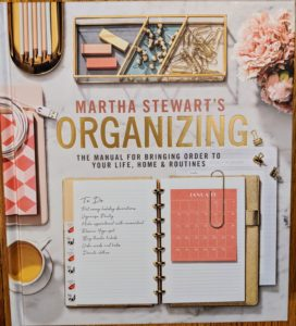 "I am so excited about my latest publication, ""Martha Stewart's Organizing"" - it is the ultimate guide to getting your life in order, with hundreds of practical ideas, projects, and tips for putting everything in its proper place."