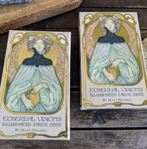 These are tarot cards - they make a fun and unique gift. The tarot is a pack of playing cards, used from the mid-15th century in various parts of Europe to play games such as Italian tarocchini, French tarot, and Austrian Königrufen, of which many are still played today.