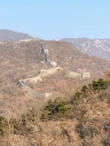 Here, one can see the towers. Beacon towers, also called watch towers or guard towers, are built throughout or alongside the Great Wall of China to watch enemies and pass military messages.