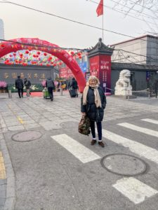 And here I am in front of the Beijing Panjiayuan Antique Market. In my next blog, we take a high speed bullet train to Xi'an. Be sure to visit tomorrow and see more of my trip to China.
