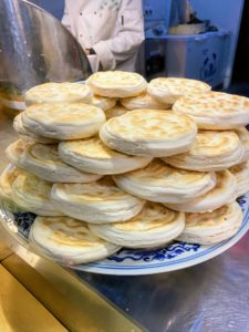 Unleavened bread is popularly crumbled and used in stews to absorb the delicious flavors.