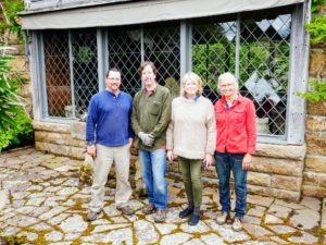 Here I am with some of my Skylands team - Rick, Mike, and Wendy. This photo was taken a couple years ago during Memorial Day Weekend when I traditionally go up to Skylands to plant all the large stone containers on my terrace.