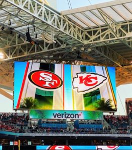 As you all know, the game was between the Kansas City Chiefs and the San Francisco 49ers. The game marked the first time these two teams have ever met at Super Bowl.