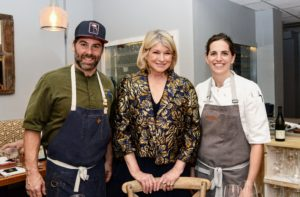 The first event I co-hosted was a dinner at Buccan. Here I am with Chef Clay Conley, who owns the Buccan, as well as the Imoto and Grato restaurants all located in Palm Beach County. To my left is Chef Katie Button, owner of two unique restaurant concepts in Asheville, North Carolina - Cúrate Tapas Bar and Button and Co. Bagels. Chef Katie, a James Beard Award finalist is well known for her eclectic down-home take on Spanish cuisine. (Photo by Alissa Dragun @southmoonphoto)