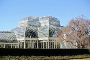 As the nation's largest Victorian glasshouse, it is among the grandest indoor spaces in the world. In addition to the Orchid Show, this enormous glass structure is home to a tropical rain forest, a cactus-filled desert, and an ever-changing landscape of flowers and foliage.
