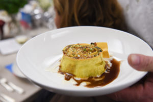 Then we had Rotolo in Bianca, which is rolled pasta, veal ragu, and ricotta. (Photo by WorldRedEye.com)