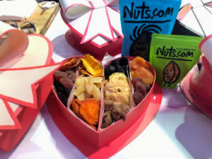For Alexis, who loves fruits, I filled the box with dried fruits from Nuts.com.