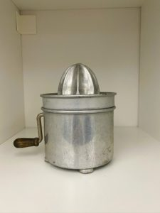 Here's another juicer in stainless steel.