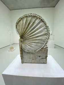 """Another piece by Cy Twombly called """"Cycnus,"""" Rome (1978)."""