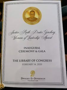 The event was held in the Coolidge Auditorium in the Library of Congress. This Library is housed across three buildings on Capitol Hill: the Thomas Jefferson Building, the James Madison Memorial Building, and the John Adams Building. It houses more than 164 million items, from books to photos to recordings, etc.