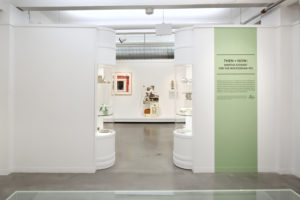 I gathered many of the objects from my home for this exhibit - items I still use and love. I also worked closely with the Wolfsonian team to incorporate their beautiful collections and place them with their present-day counterparts. (Photo by WorldRedEye.com)