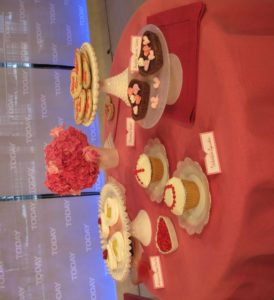 I brought an assortment of delicious Valentine's Day desserts from the February issue of Martha Stewart Living and www.marthastewart.com