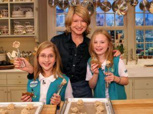 In this segment, two of my little friends, and fellow Girl Scouts, helped me make chocolate chip cookies. The heavenly aroma of a batch of cookies baking in the oven is guaranteed to lift spirits.