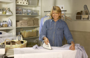 One of my favorite indoor job activities - ironing! Even if this isn't one of your favorite chores, now is an excellent time to tackle the pile. Watch the App for my tips on how to get the job done well and quickly.