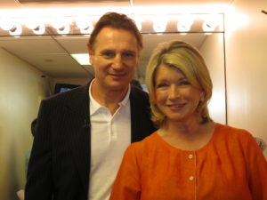 And here I am with Liam Neeson.