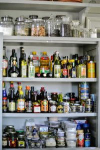 When grocery stores are struggling to remain consistently stocked, I encourage everyone to organize the home pantry - discard expired foods, group like items, and arrange goods by size. Ideally, one should be able to easily see what's on hand. Doing this will prevent overbuying and waste.