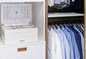Everything is within easy reach and all the drawers include the popular soft-close feature. (Photo by Andy Frame, andyframe.com)