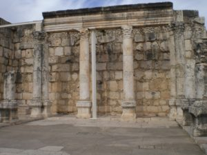 Another ancient synagogue in Capernaum