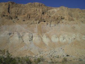 Dramatic steep cliffs